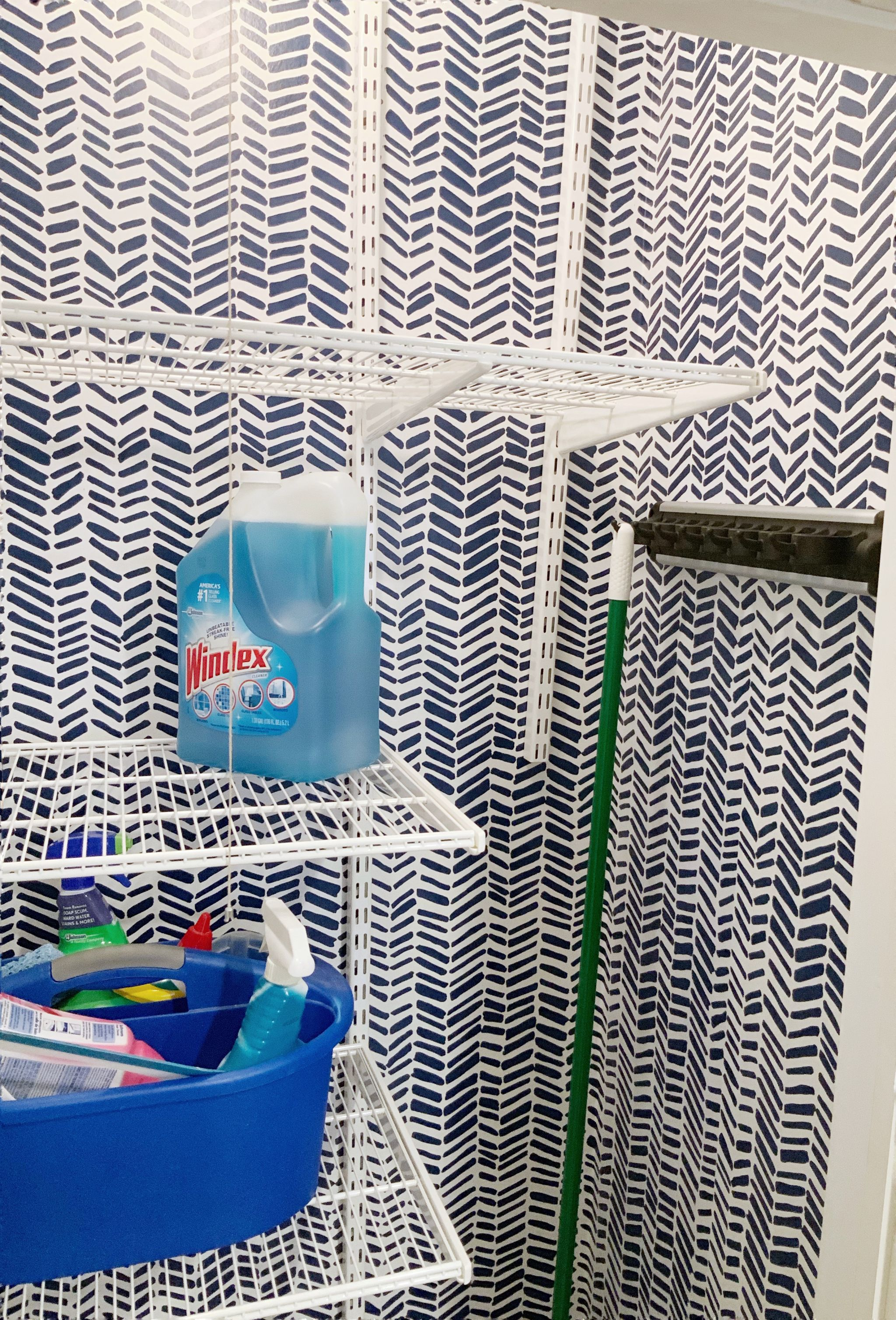 My New Cleaning Closet La Petite American