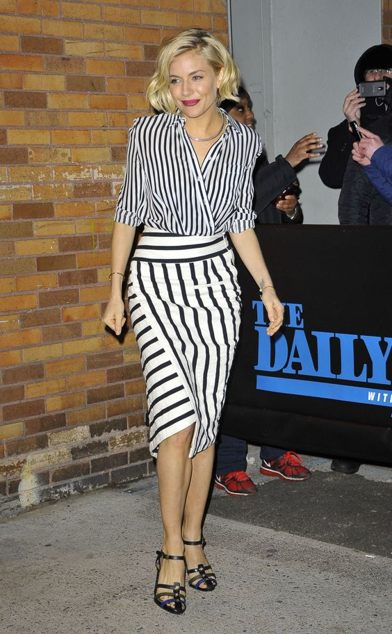 Sustainable Sunday: Altuzarra 'Arcadia' Striped Skirt